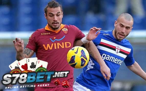 Sampdoria vs AS Roma