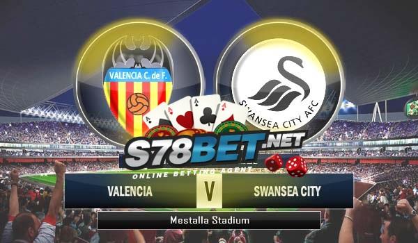 Valencia vs Swansea City