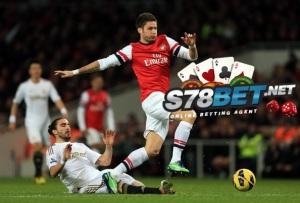 Prediksi Skor Swansea City vs Arsenal 9 November 2014