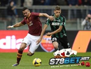 Prediksi Skor Sassuolo vs AS Roma 30 April 2015