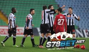 Skor Cagliari vs Udinese