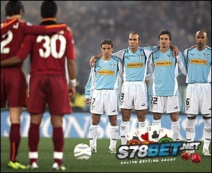 Skor Lazio vs AS Roma