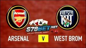 prediksi Arsenal vs West Bromwich Albion