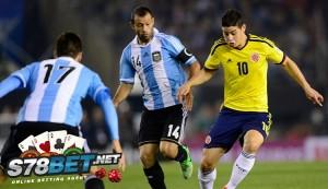 Prediksi Skor Bola Argentina vs Kolombia