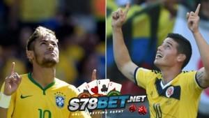 Prediksi Skor Bola Brasil vs Kolombia