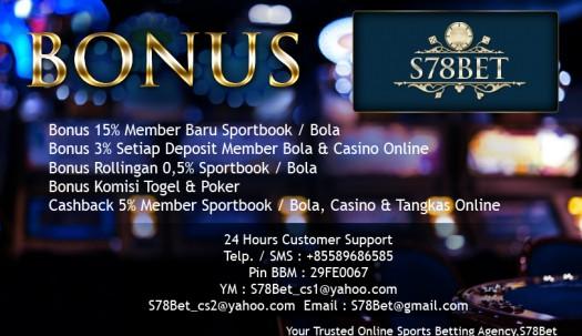 Judi Online Bola Casino Bonus Deposit
