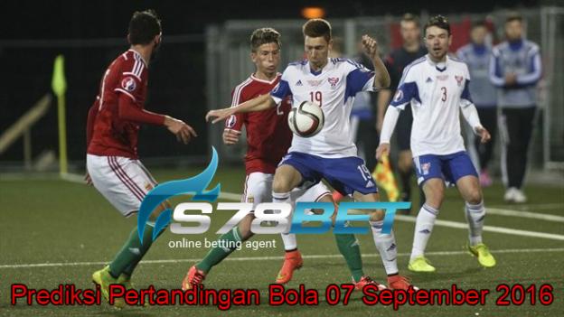 Prediksi Skor Faroe Islands vs Hungary 07 September 2016