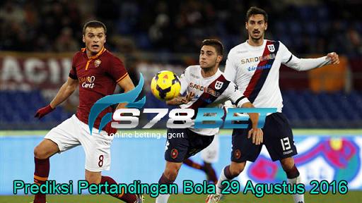 Prediksi Skor Cagliari vs Roma 29 Agustus 2016