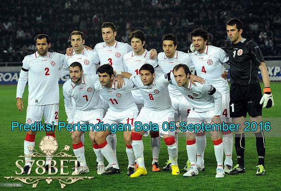 Prediksi Skor Georgia vs Austria 05 September 2016