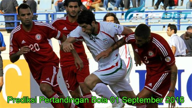 Prediksi Skor Iran vs Qatar 01 September 2016