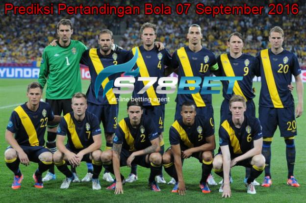 Prediksi Skor Sweden vs Netherlands 07 September 2016
