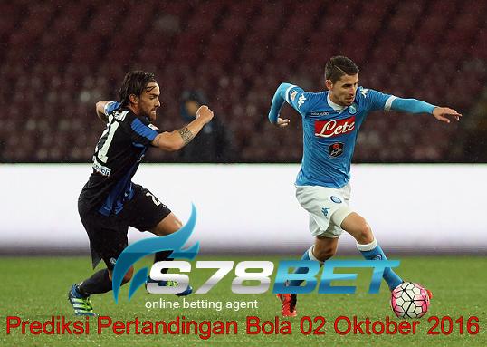 Prediksi Skor Atalanta vs Napoli 02 Oktober 2016