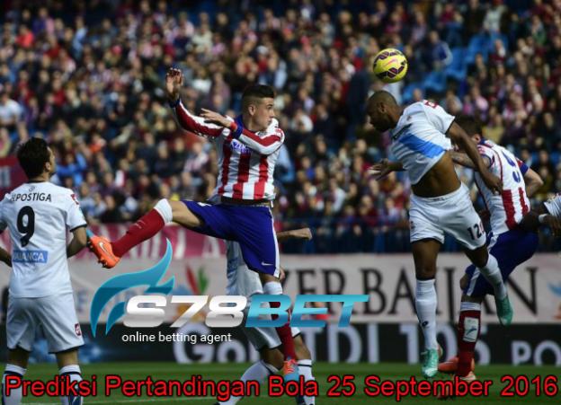 Prediksi Skor Atletico Madrid vs Deportivo la Coruna 25 September 2016