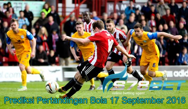 Prediksi Skor Brentford vs Preston North End 17 September 2016