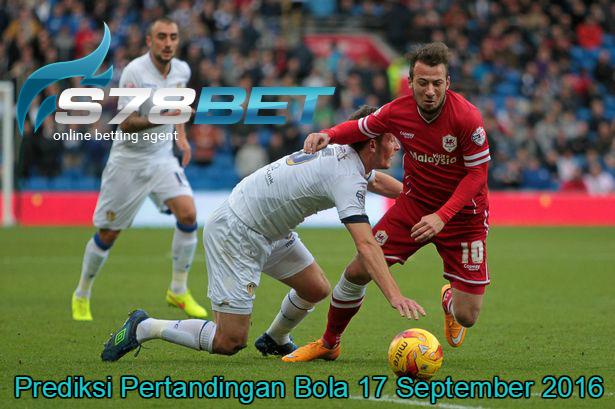 Prediksi Skor Cardiff City vs Leeds United 17 September 2016