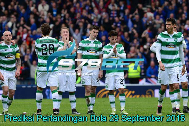 Prediksi Skor Celtic vs Manchester City 29 September 2016