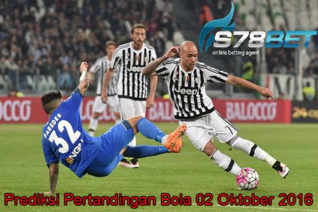 Prediksi Skor Empoli vs Juventus 02 Oktober 2016