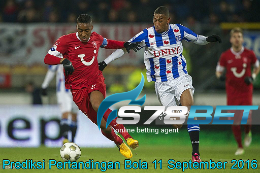 Prediksi Skor Heerenveen vs Twente 11 September 2016