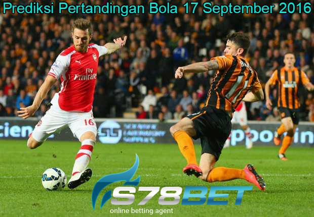 Prediksi Skor Hull City vs Arsenal 17 September 2016