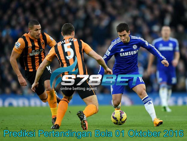 Prediksi Skor Hull City vs Chelsea 01 Oktober 2016