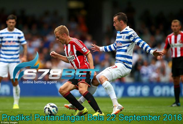 Prediksi Skor QPR vs Sunderland 22 September 2016