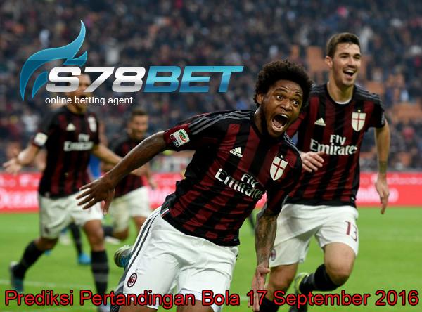 Prediksi Skor Sampdoria vs AC Milan 17 September 2016