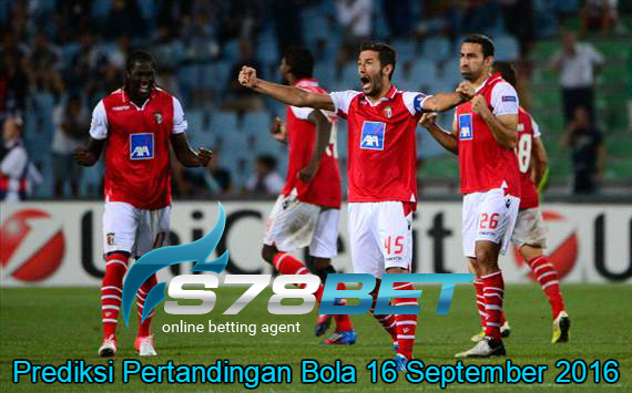 Prediksi Skor Sporting Braga vs KAA Gent 16 September 2016