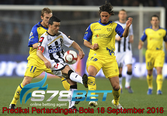 Prediksi Skor Udinese vs Chievo 18 September 2016