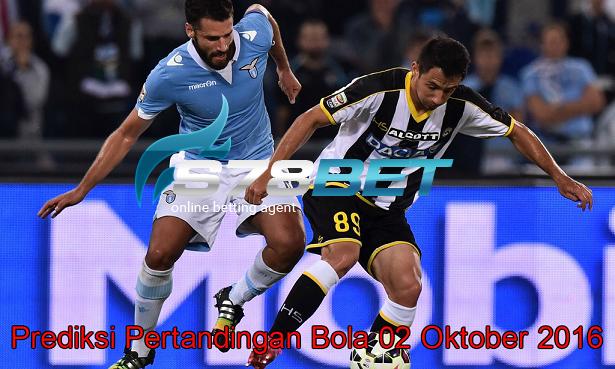Prediksi Skor Udinese vs Lazio 02 Oktober 2016