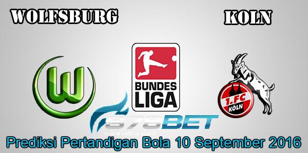 Prediksi Skor Wolfsburg vs KOLN 10 September 2016