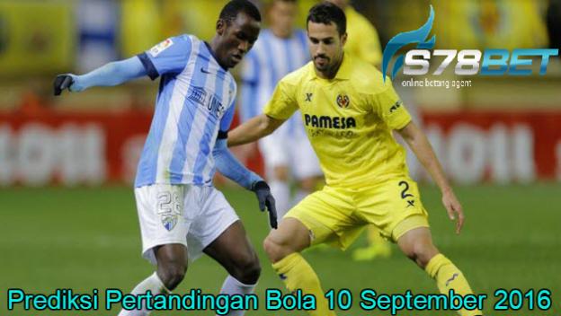 Prediksi Skor Malaga vs Villarreal 10 September 2016