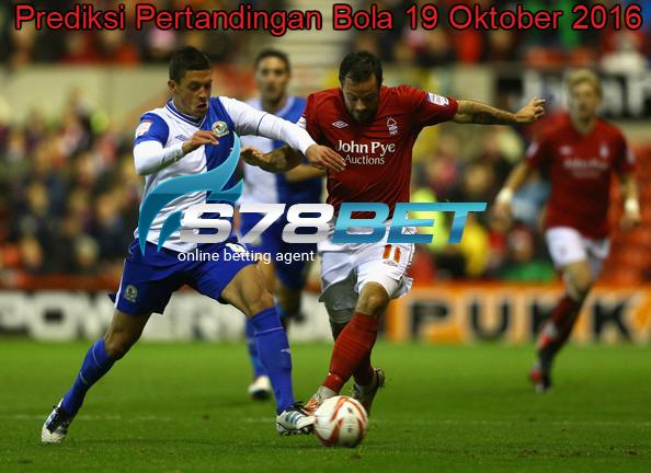Prediksi Skor Blackburn Rovers vs Nottingham Forest 19 Oktober 2016