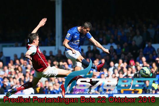Prediksi Skor Burnley vs Everton 22 Oktober 2016