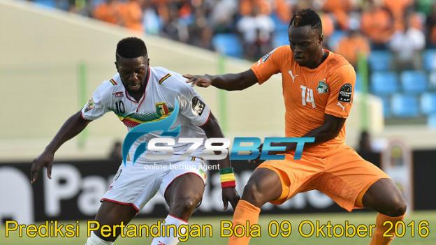 Prediksi Skor Cote D'Ivoire vs Mali 09 Oktober 2016