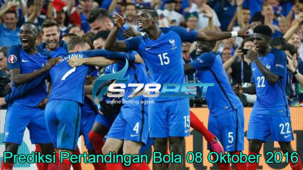 Prediksi Skor France vs Bulgaria 08 Oktober 2016