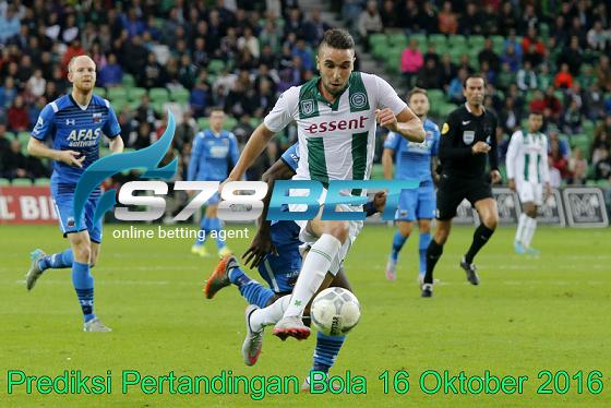 Prediksi Skor Groningen vs Heerenveen 16 Oktober 2016