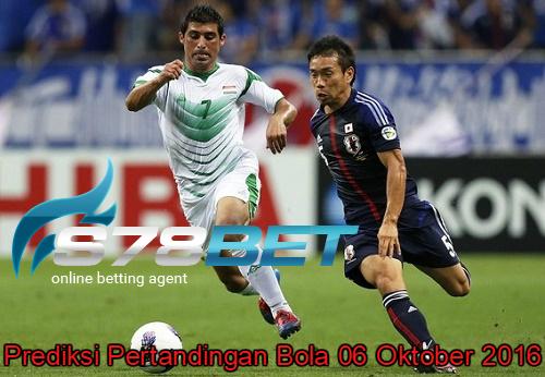 Prediksi Skor Japan vs Iraq 06 Oktober 2016