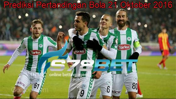 Prediksi Skor Konyaspor vs Braga 21 Oktober 2016