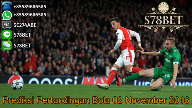 Prediksi Skor Ludogorets vs Arsenal 02 November 2016