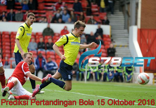 Prediksi Skor Nottingham Forest vs Birmingham City 15 Oktober 2016