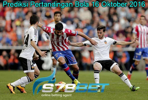 Prediksi Skor Sporting Gijon vs Valencia 16 Oktober 2016