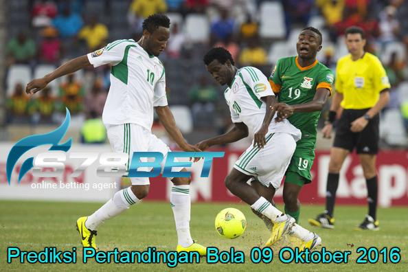 Prediksi Skor Zambia vs Nigeria 09 Oktober 2016