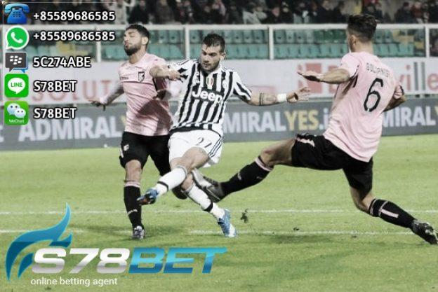Prediksi Skor Juventus vs Palermo 18 February 2017