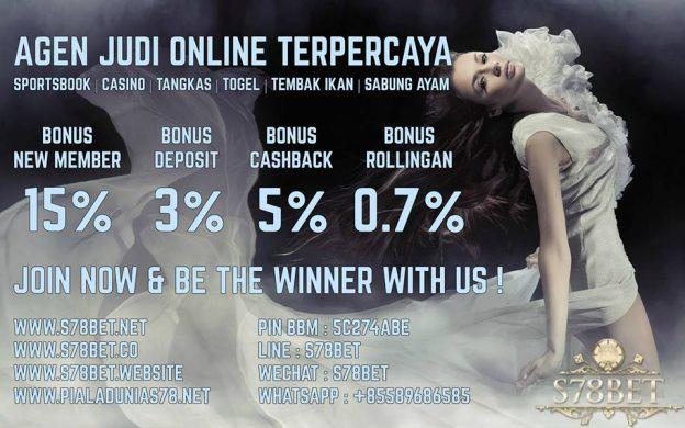 S78BET.co Website Agen Taruhan Bola Online Promo Bonus Terbesar
