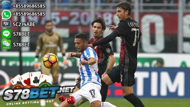 Prediksi Skor Pescara vs Milan 02 April 2017
