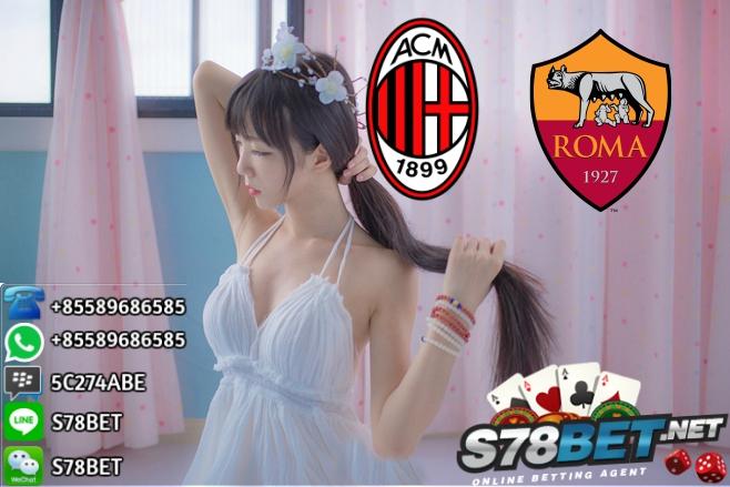 Prediksi Skor AC Milan vs AS Roma 01 Oktober 2017