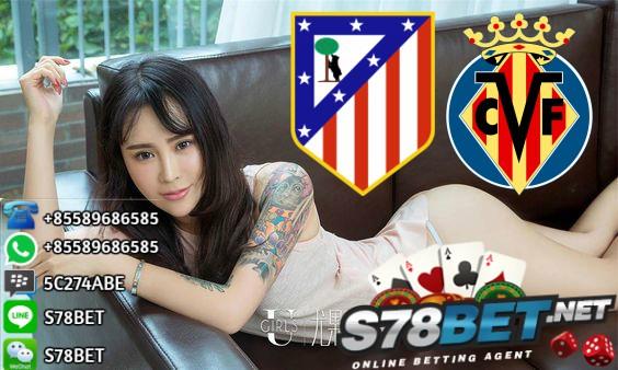 Prediksi Skor Atletico Madrid vs Villarreal 28 Oktober 2017