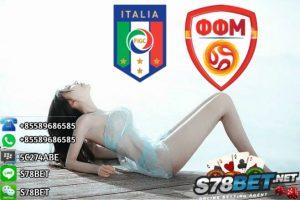 Prediksi Skor Italy vs FYR Macedonia 07 Oktober 2017