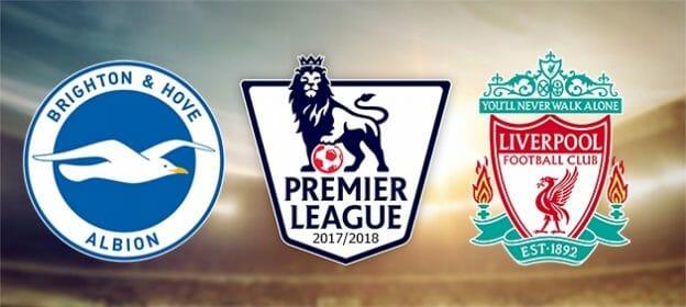 Prediksi Skor Brighton Hove Albion vs Liverpool 2 Desember 2017