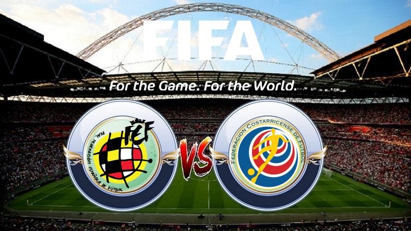 Prediksi Skor Spain vs Costa Rica 12 November 2017